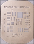 USAF Resolving power Test Target 1951